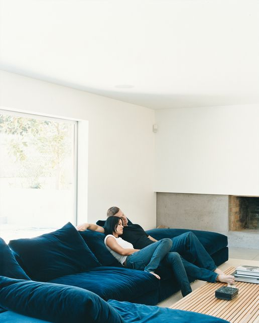 Floor level sofas are our favorite new design trend for Floor level sofa