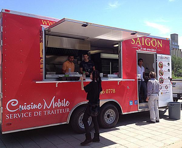 Food Trucks Montreal Old Port