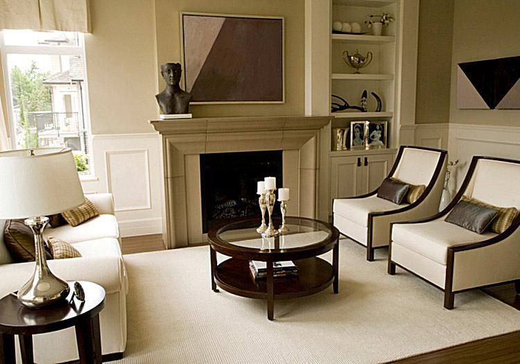 Decorate any room in the transitional style How to furnish small living rooms