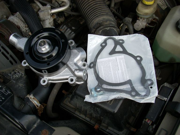 You can install a new water pump