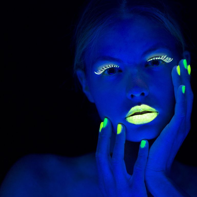 Learn how to make homemade glow in the dark nail polish.