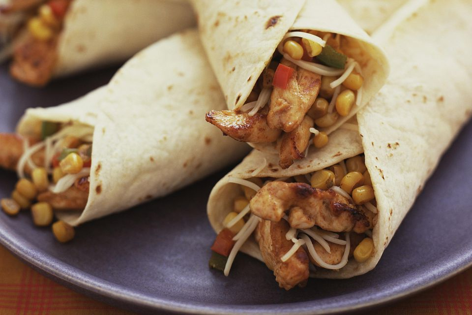 Chicken in Tortillas