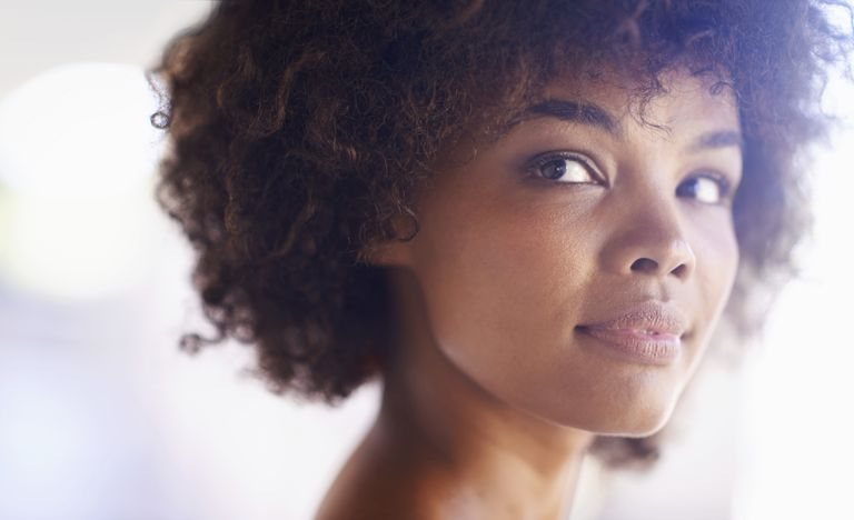 A radiant young woman