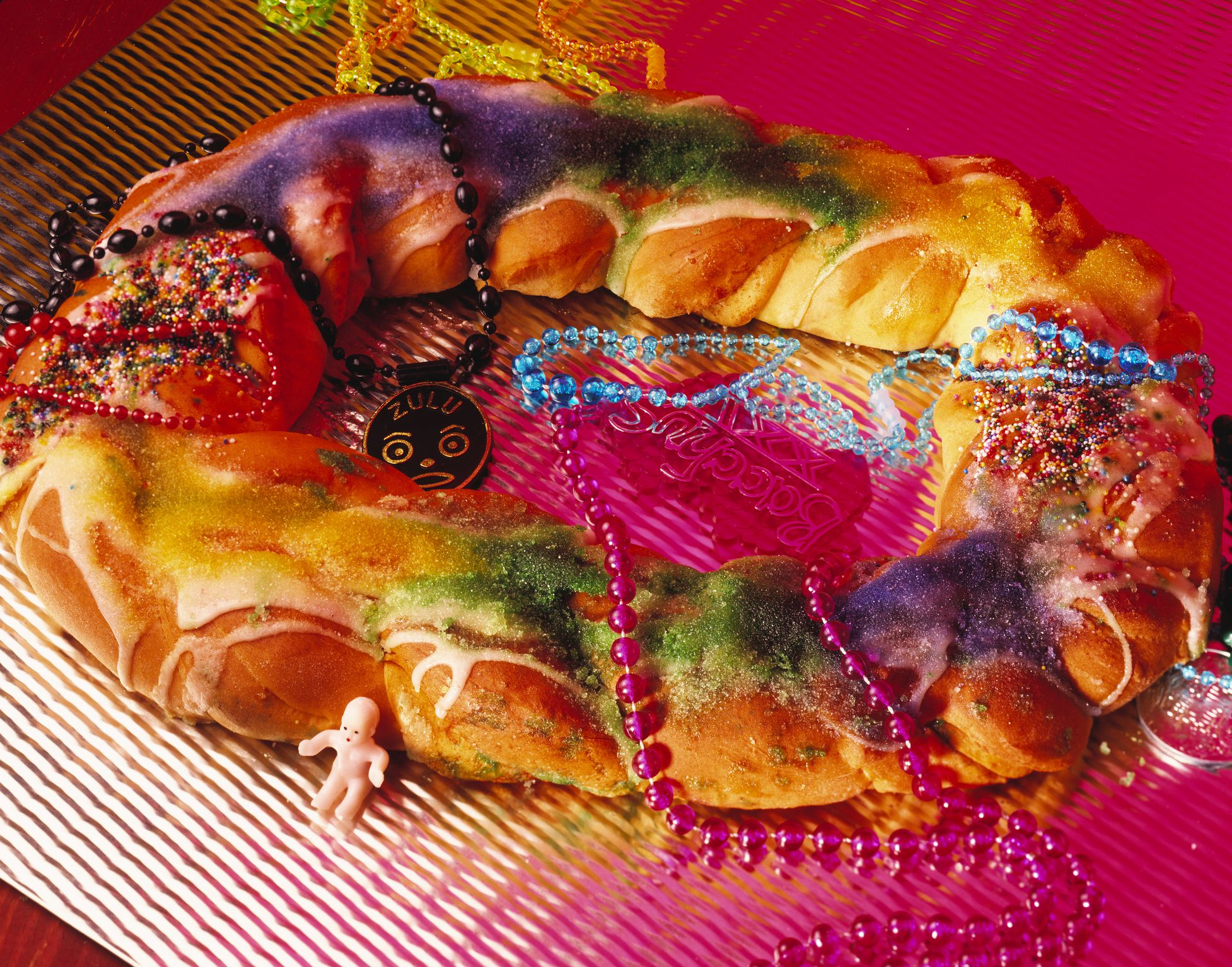 mardi gras baby cake vegan king cake for mardi gras recipe 5706