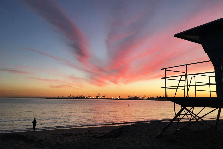 The Beaches Of Long Beach, California