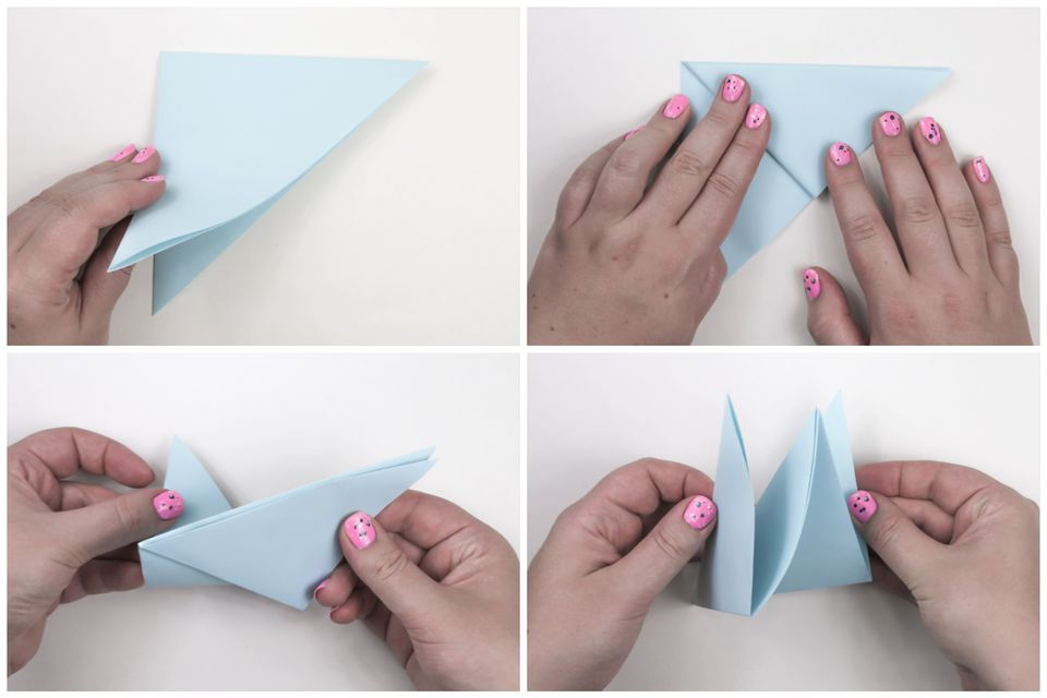 Origami Peace Dove Step-by-Step Instructions - photo#25