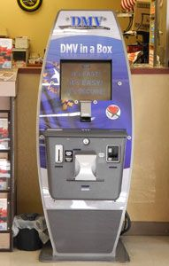 DMV in a Box, self-service kiosks of the Nevada Department of Motor Vehicles