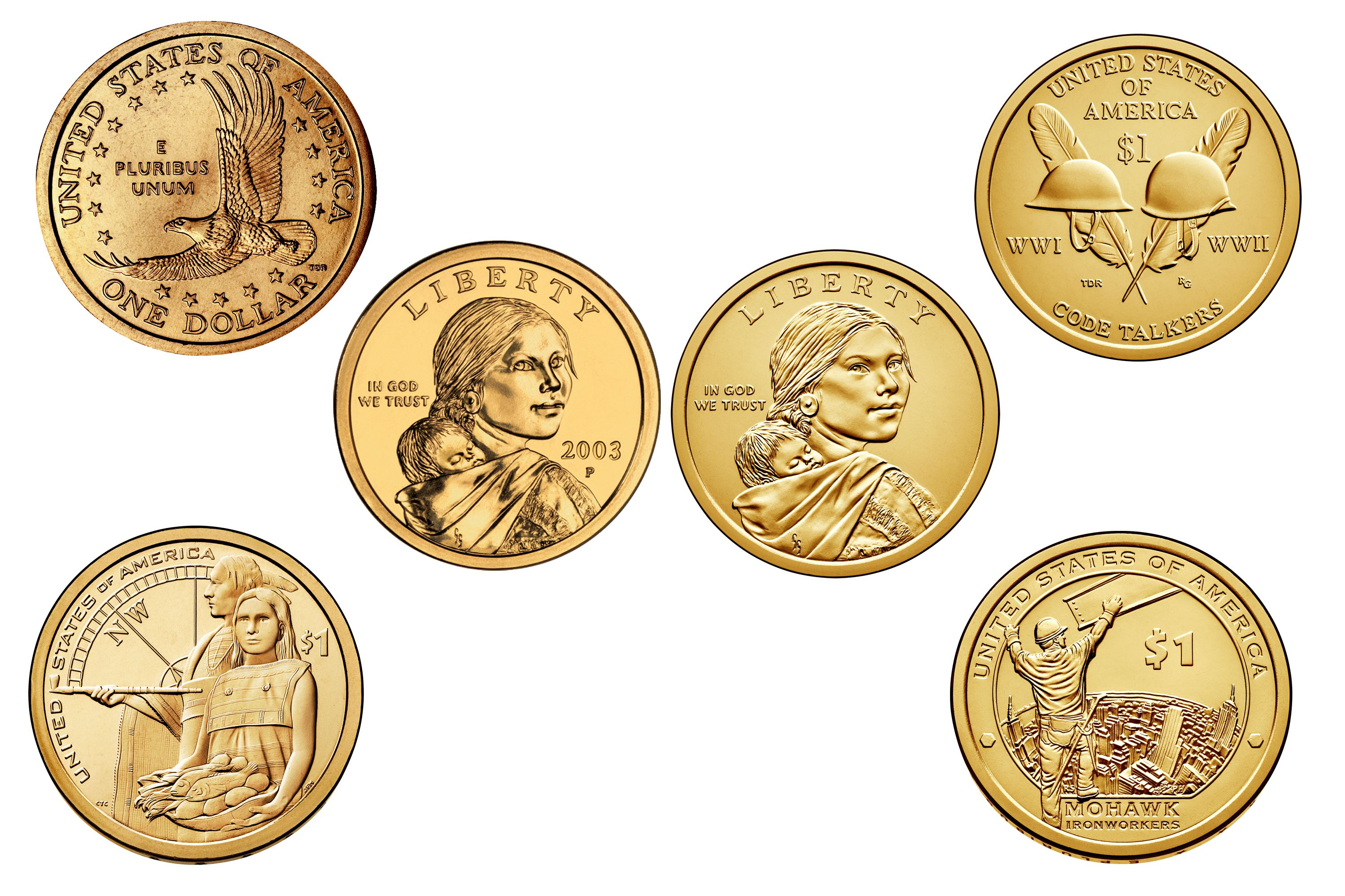 Presidential dollar values and prices find out how much your sacajawea or native american dollar is worth xflitez Choice Image