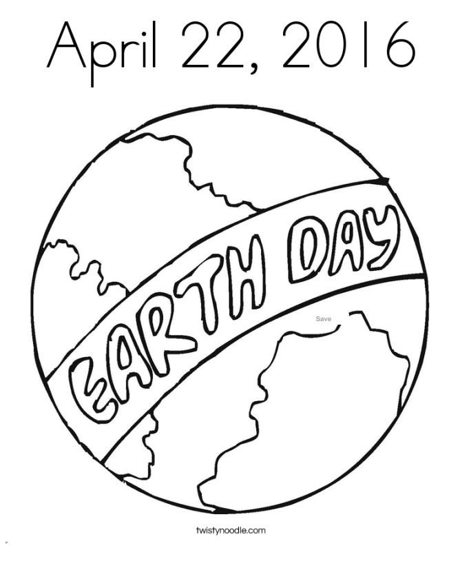 Earth Day Coloring Pages At Twisty Noodle