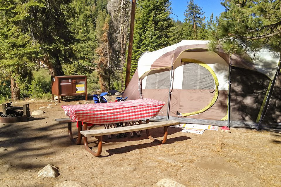sequoia camping kings canyon campgrounds