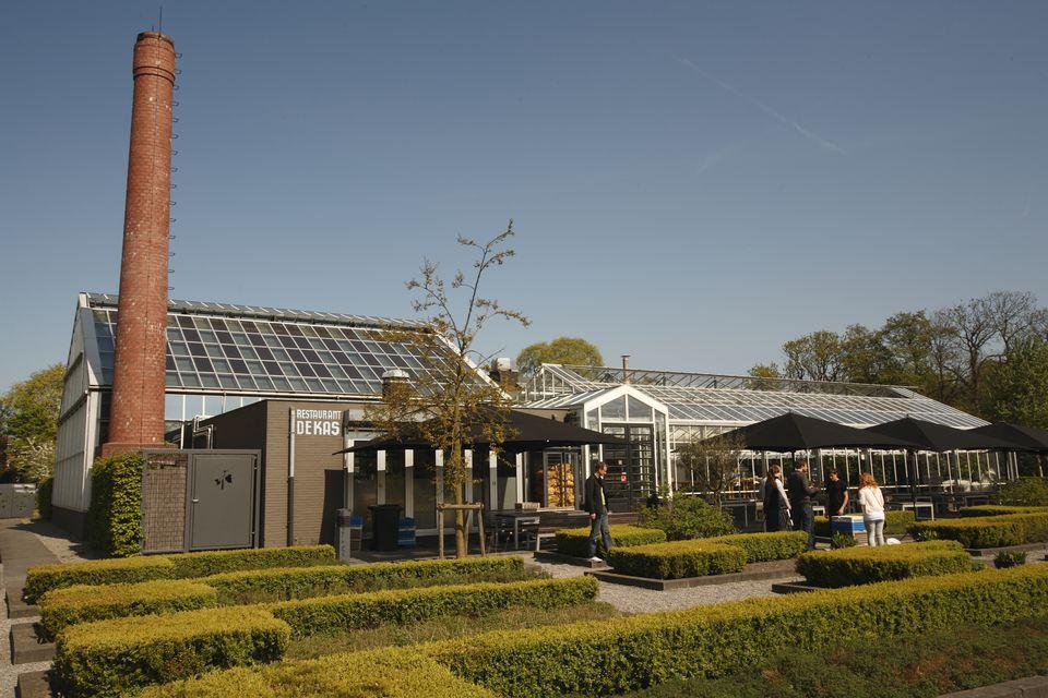 Restaurant De Kas, 'the greenhouse', in Amsterdam
