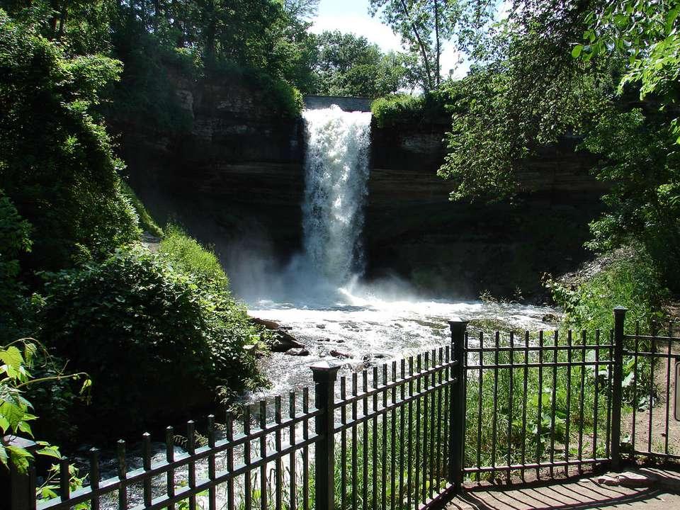 Minnehaha Park and Minnehaha Falls