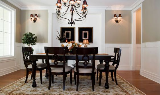 dining room colors in gray and white - Dining Room Wall Colors