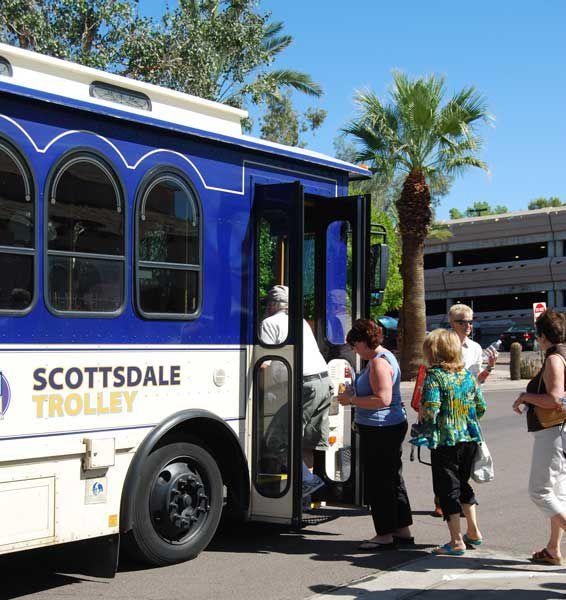 Free Trolley Tour of Scottsdale
