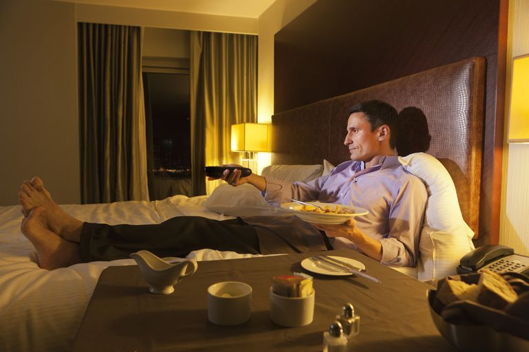 Eating in bed while asleep may occur with sleep eating disorder and treatments include identifying causes such as sleep apnea and medications like Ambien