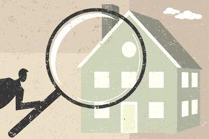 Examining a home