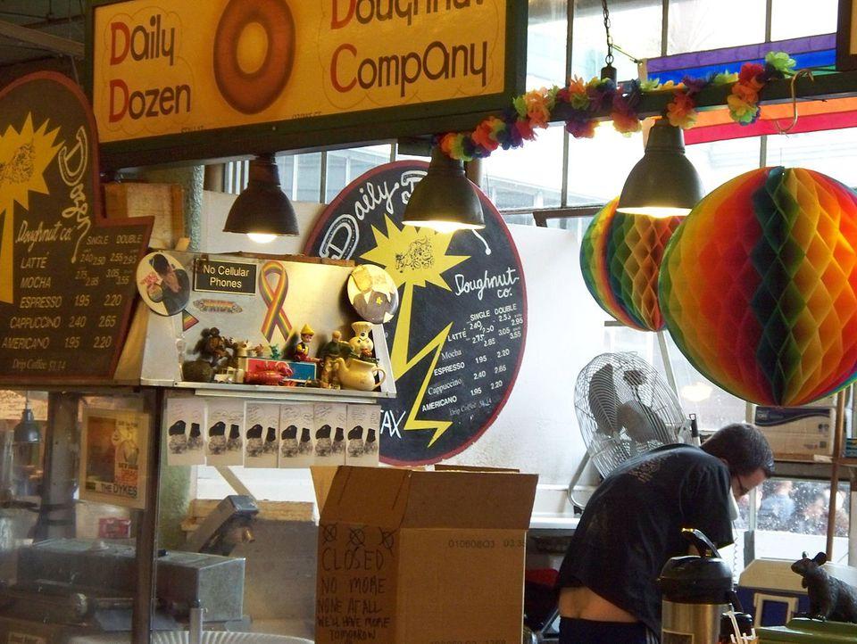 Daily Dozen Doughnut Company in Pike Place Market; Seattle, Washington