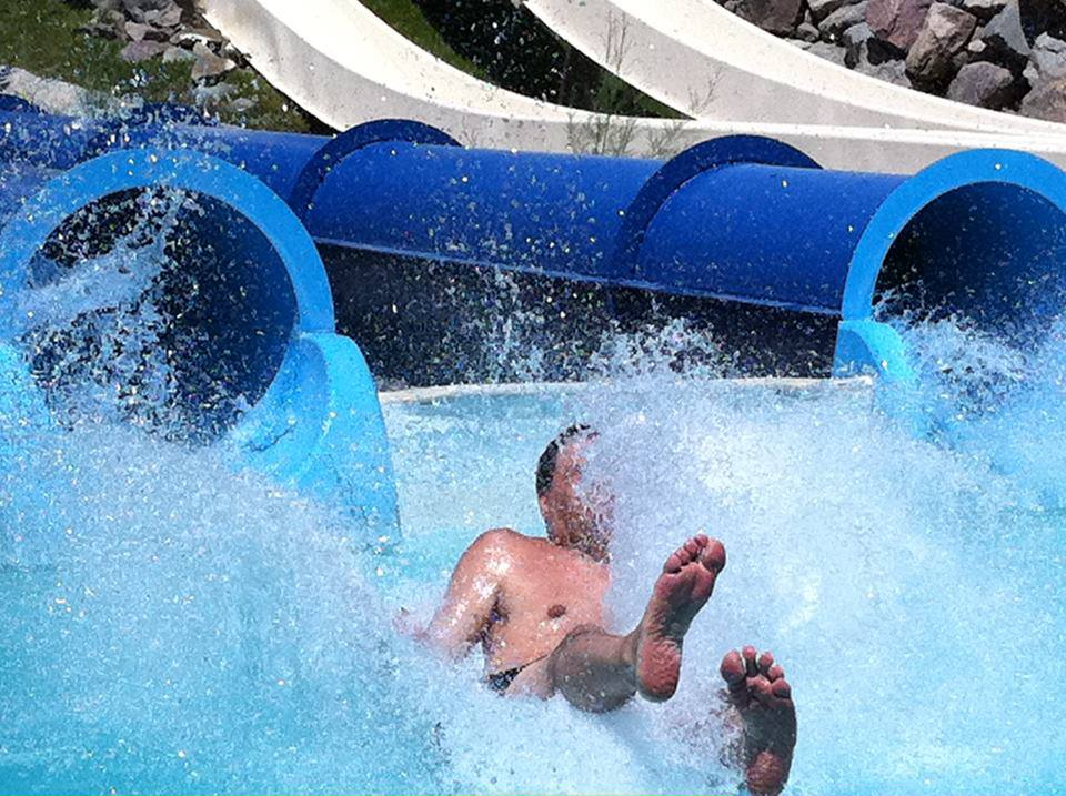 Jet Stream slide at Water World Colorado
