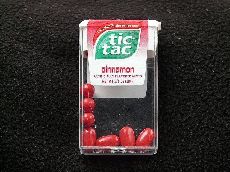 Tic Tacs for Minute to Win It Mad Dog game