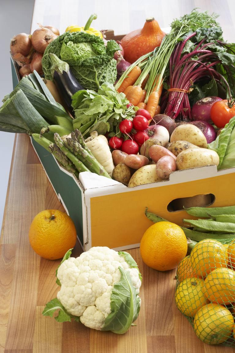 frutas y verduras cardiosaludables, antioxidantes, vitaminas,