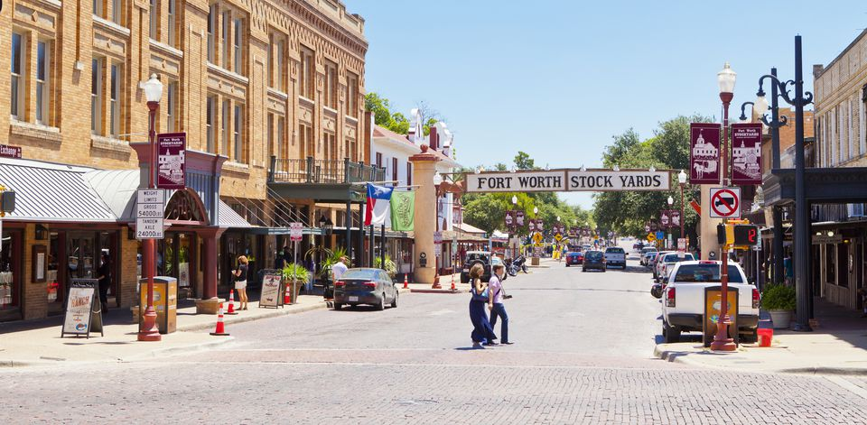 Fort Worth Stockyards, Texas, United States of America, North America