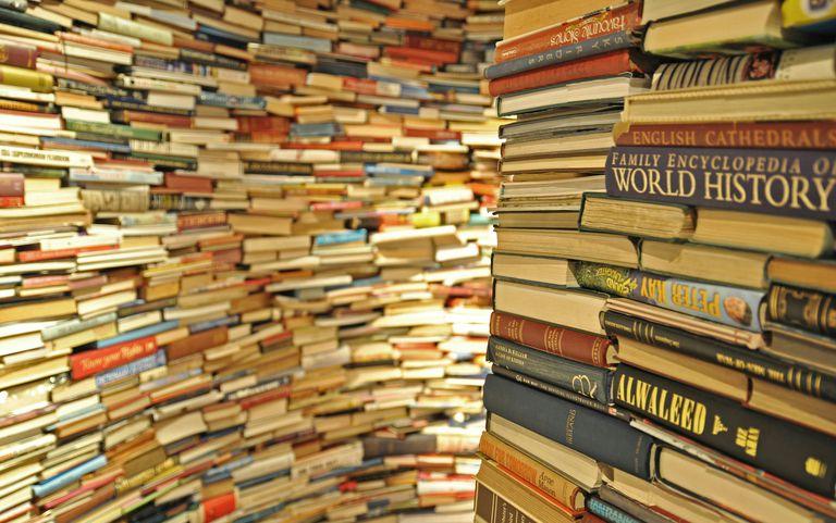 Books in store