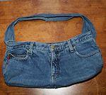 Blue Jean Tote Bag Pattern