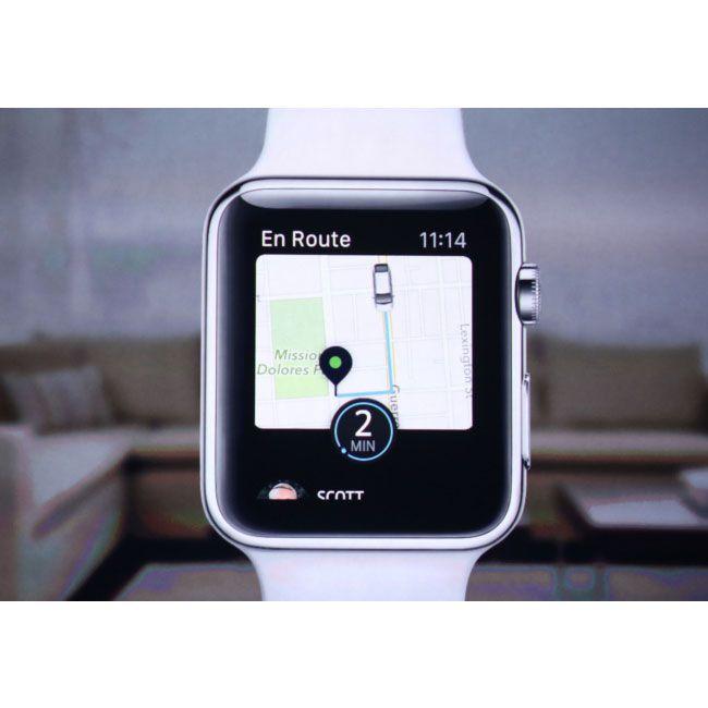 Apple Watch Uber