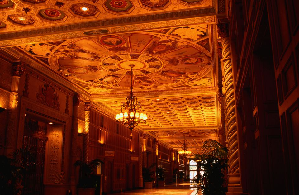 Biltmore Hotel: inside view -Los Angeles, California