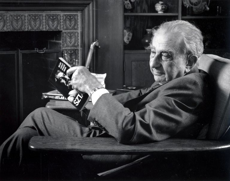 Edward Teller in his later years