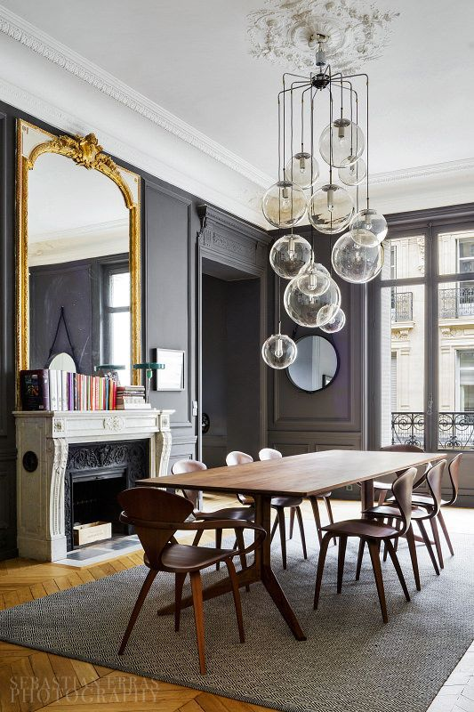 The best places to hang a mirror in a house for Modern mirrors for dining room