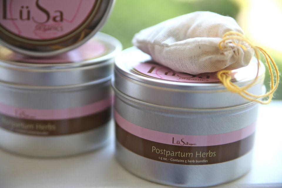 Lusa Organics Postpartum Herbs