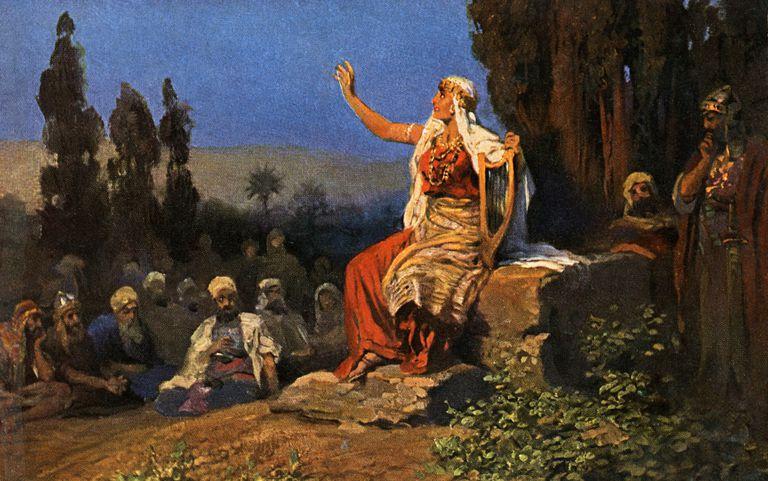 Deborah 's triumphal song - Book of Judges
