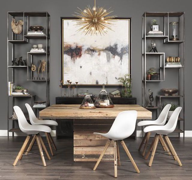 Modern Dining Room Furniture Accessories: 25 Fabulous Gray Dining Room Design Ideas