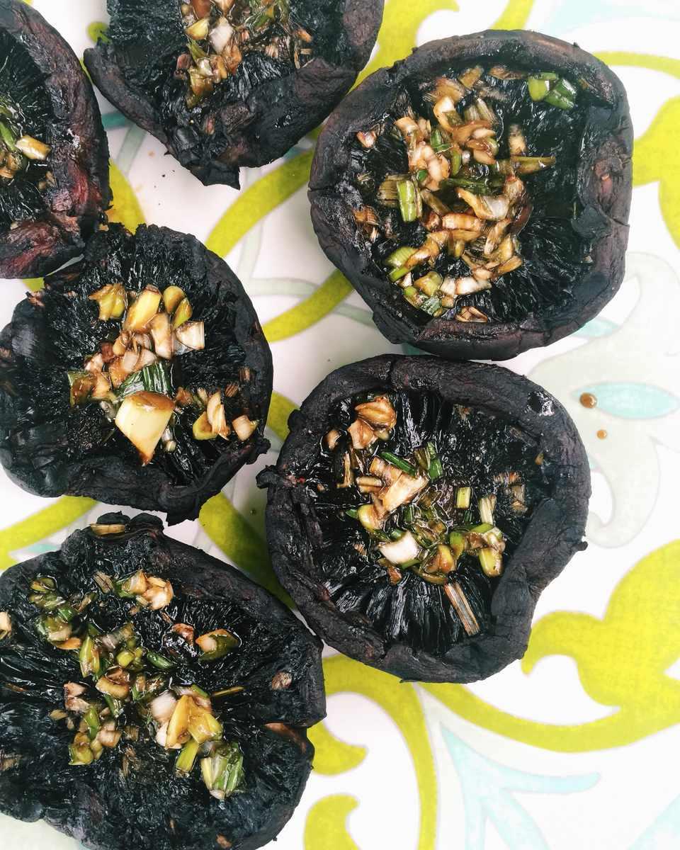 Asian Grilled Portobello Mushrooms