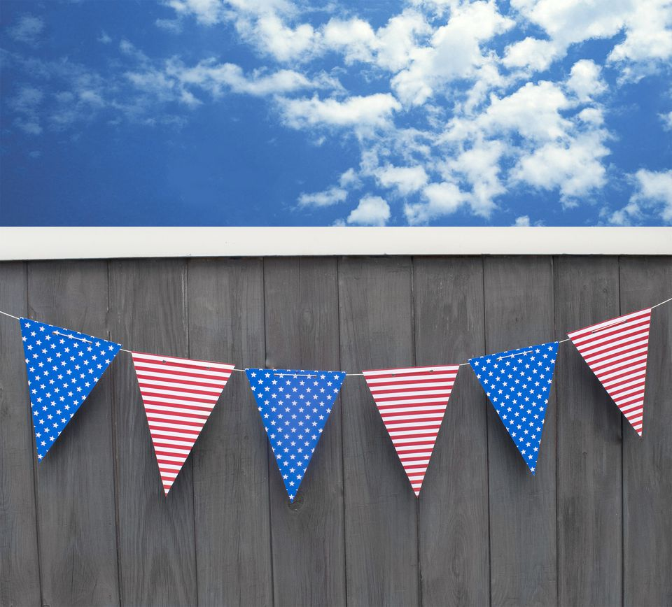 DIY 4th Of July Banner