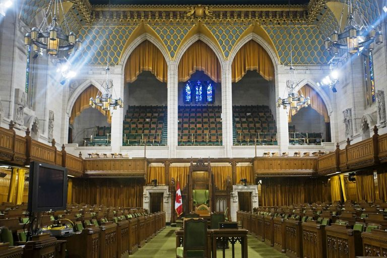 Canadian House of Commons Chamber
