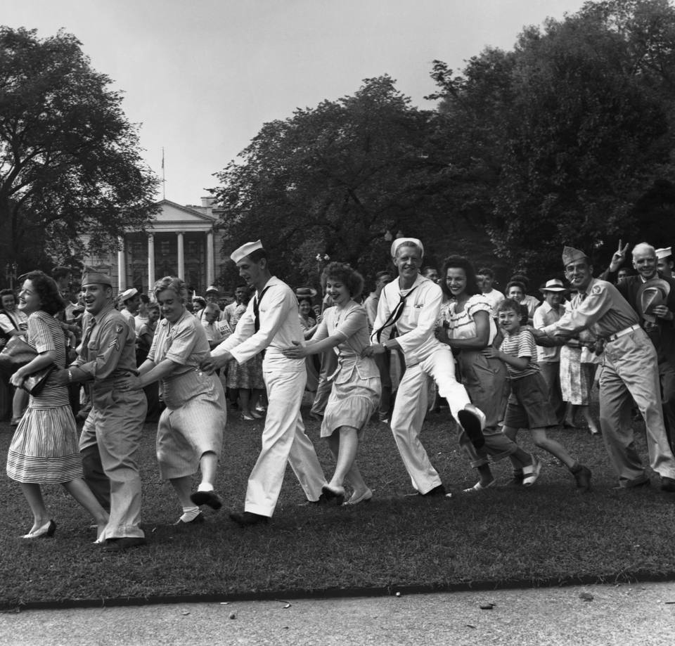 conga line white house