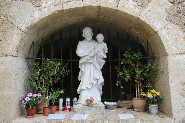 Saint-Joseph du Bessillon Monastery where St Joseph appeared to shepherd Gaspard Ricard.
