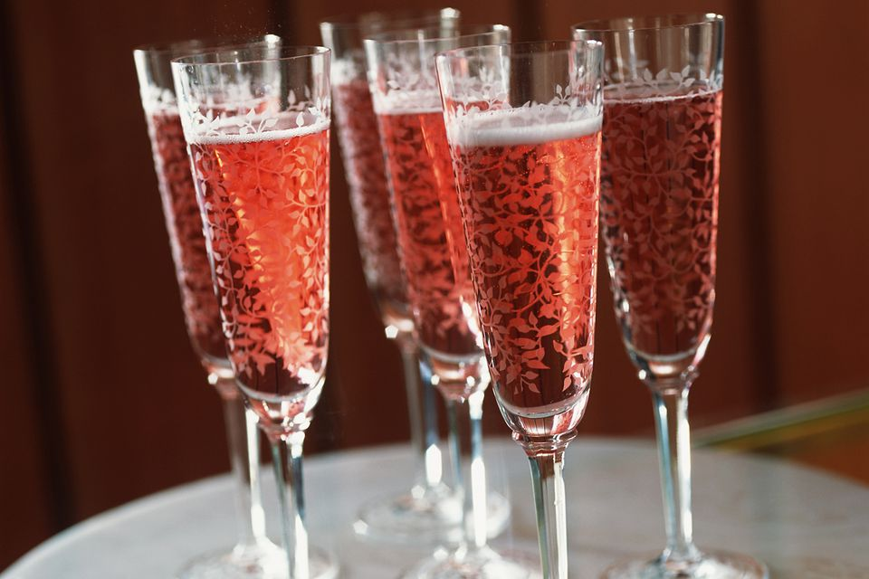 Rose Berry Bliss Cocktail Champagne Recipe