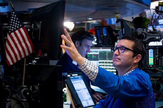 Trading On The Floor Of The NYSE