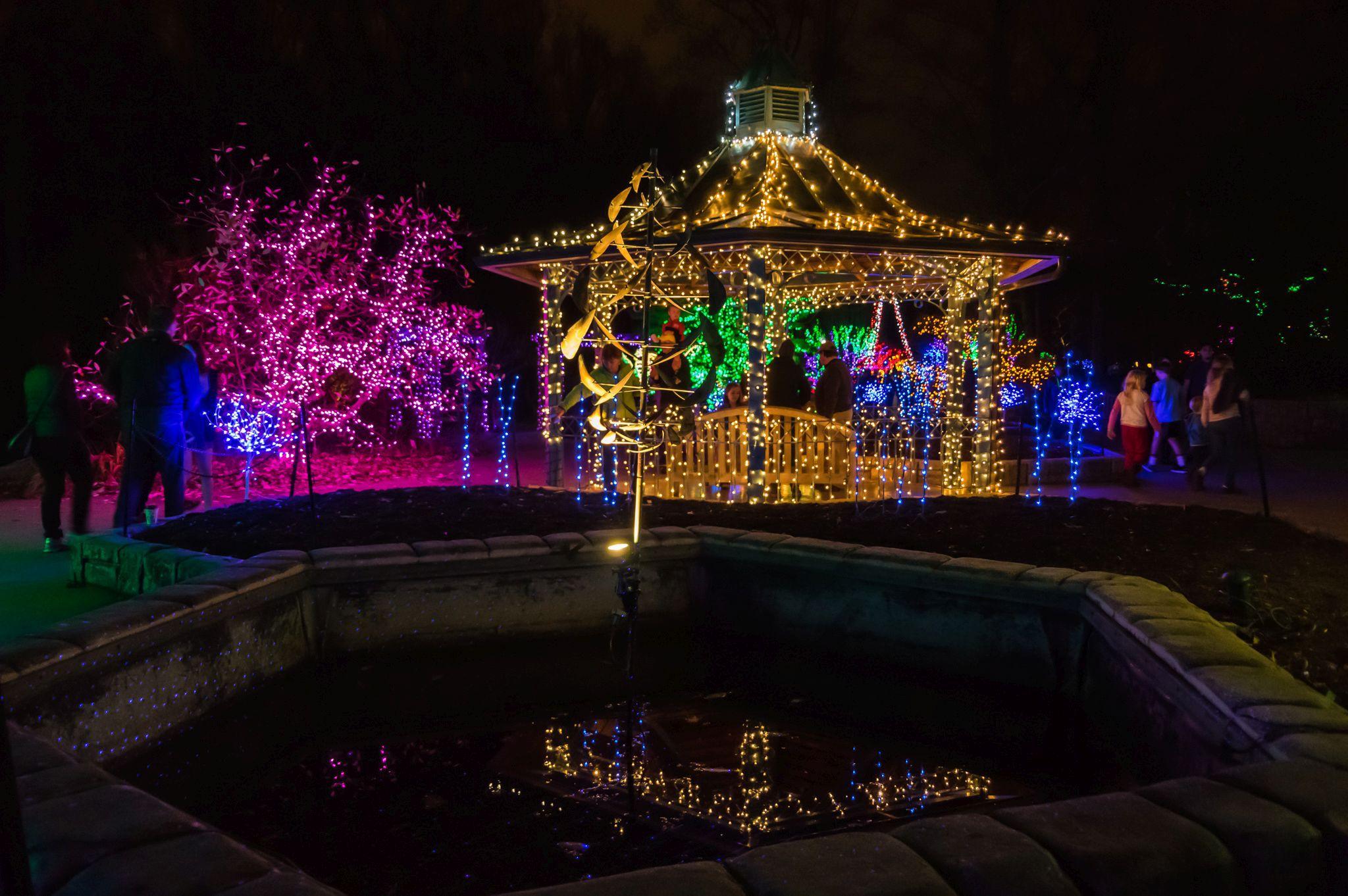 brookside gardens of lights 2017 christmas display