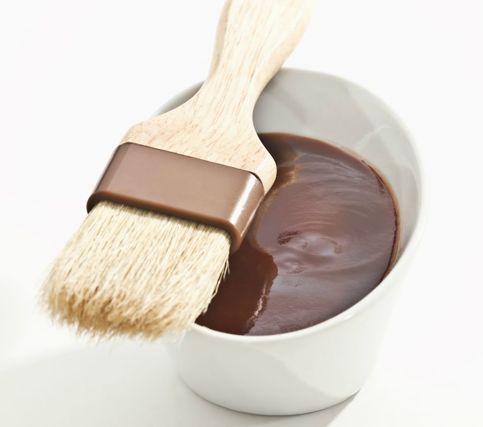 BBQ sauce with brush
