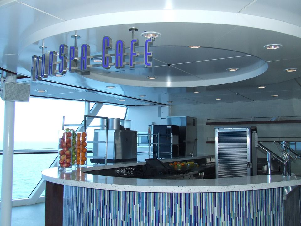 Celebrity Solstice AquaSpa Cafe