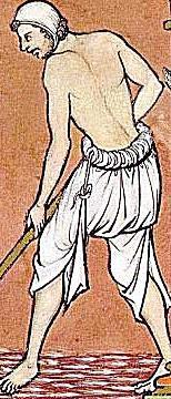 Laborer Wearing Braies