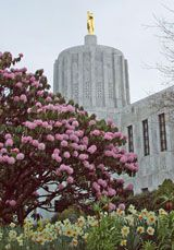 Photo of Oregon State Capitol Building in Salem