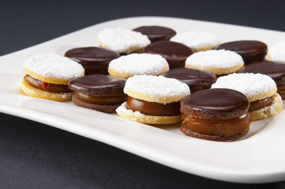 cookies filled with pastry cream