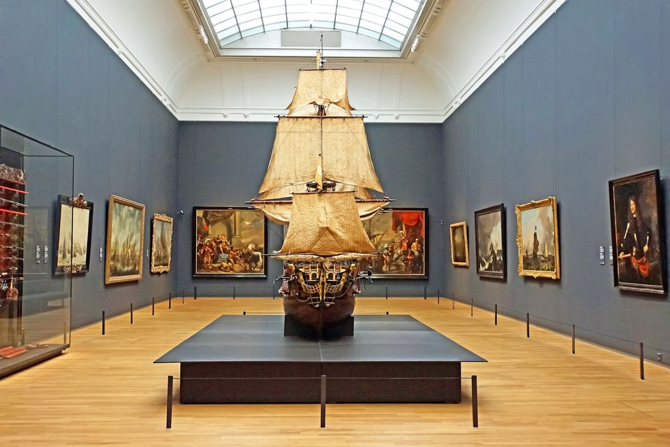 The Rijksmuseum (pictured) is open on Mondays.