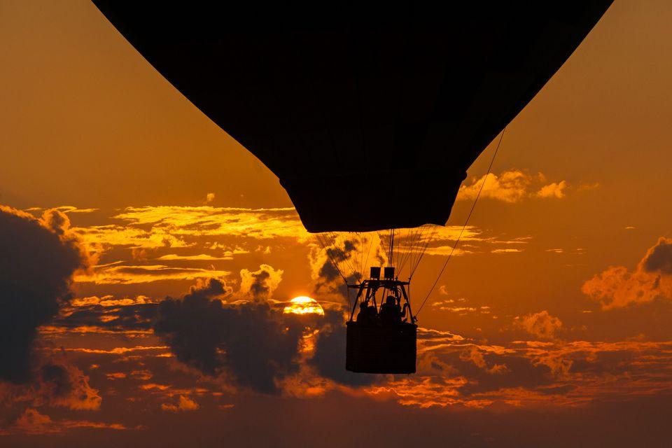 Hot air balloon, NJ