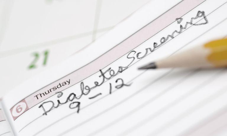 Picture of diabetes screening
